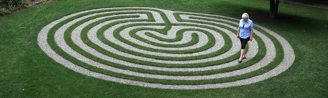 Walking the maze